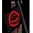 Flagpole smiley glow 48