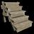 Wood stairs 0m 1 3m 1 2m 1 6m 48