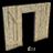 Wood door frame 48