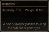 Aviators Tooltip