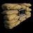 Sandbag crafted 1 3m 3m window 48