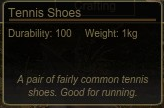 Tennis Shoes Tooltip