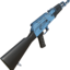 Akm painted blue 2048
