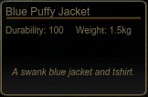 Blue Puffy Jacket Tooltip