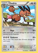 Dodrio XY Card