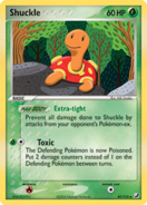 Shuckle unseen forces