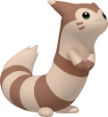 Furret pokedex 3D