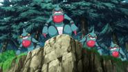 Toxicroak anime