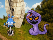 Unicycle revolution azumarill