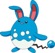 Azumarill anime model