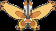 Mothim anime model