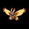 Mothim unova front