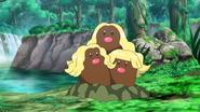 Dugtrio alolan anime