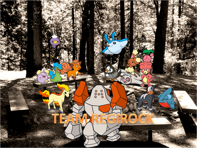 Team Regirock Group Photo