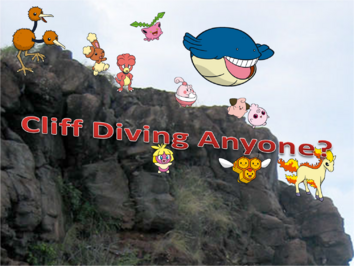 Cliff Diving Anyone Cover