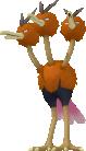 Dodrio Pokedex 3D