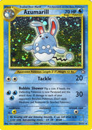 Azumarill premiere card