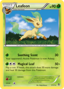 Leafeon furious fists