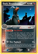 Houndoom Dark Team Rocket Returns 2