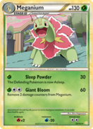 Meganium hgss card