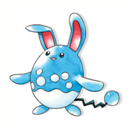 Azumarill Gold and Silver OA