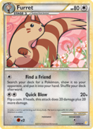 Furret hgss card
