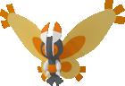 Mothim pokedex 3D