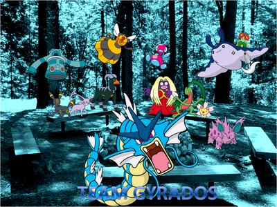 Team Gyrados Group Photo