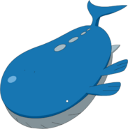 Wailord anime model