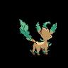 Leafeon unova back