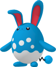 Azumarill Pokedex 3D