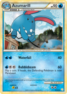 Azumarill HGSS card