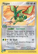 Flygon dragon card