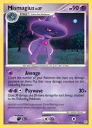 Mismagius premier card