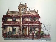 Eb0a17308438eb17d6ecc8c6edfc0610--pen-and-wash-house-paintings