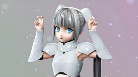 Miss monochrome Ed (She is so cute)