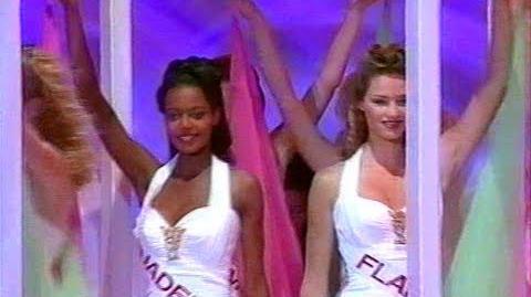 Miss France 1996 - Tableau des 45 en Robe de Soirée