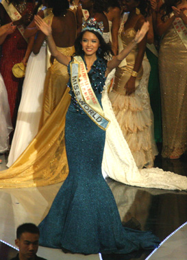 Miss World 07 ZiLin Zhang