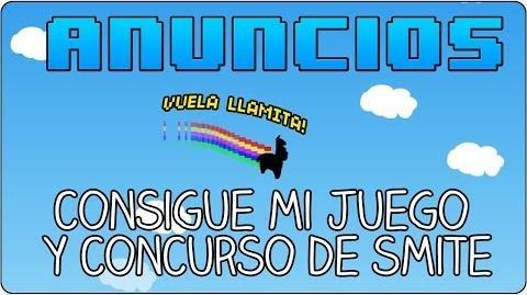 ¡DESCARGA MI VIDEOJUEGO! AVISO DEL CONCURSO DE SMITE-2