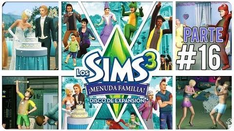Los Sims 3 Menuda Familia Parte 16 ¡Nacimiento de trillizos, celebremos! (mientras podamos)