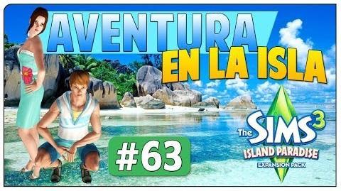 Los Sims 3 Aventura en la Isla Parte 63 Boda en la playa (Crecen tan rápido)