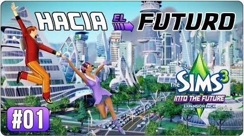 Los Sims 3 Hacia el Futuro Parte 01 Introducción Review de peinados y atuendos nuevos