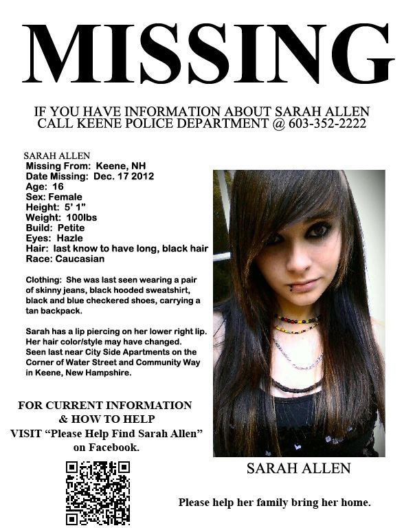recent missing people - 588×768