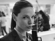 Rebecca Ferguson on set of Mission Impossible 6