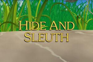 Sunny Patch Hide and Sleuth