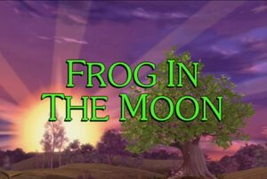 Sunny Patch Frog in the Moon Title