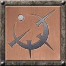 Atium Symbol Framed