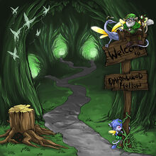 DarkWoodHollow Entrance