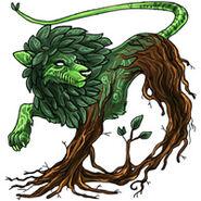 Overgrowth ahbruis