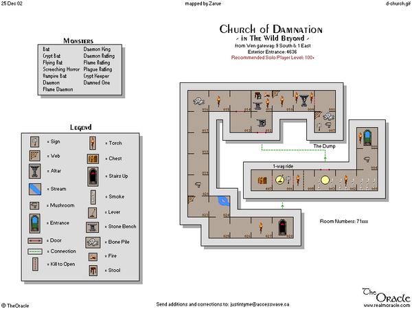 Church of damnation